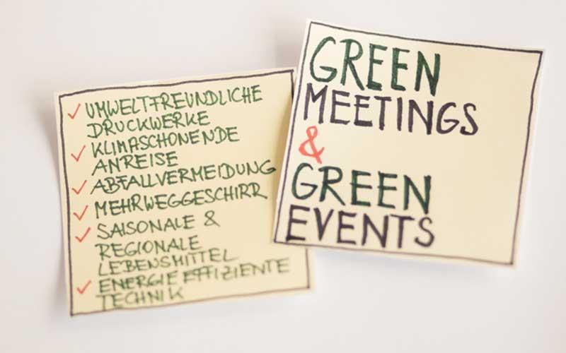 nachhaltige Eventkonzepte